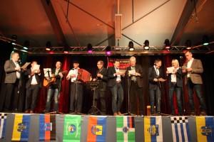 Insulaner unner sück 2016 - Chor der Bürgermeister